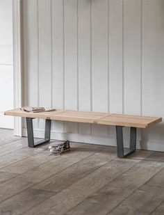 Buy Linnea Bench by Garden Trading from the Next UK online shop Find Furniture, Furniture Making, Natural Furniture, Hallway Bench, Wooden Tops, Room Themes, Table And Chairs, Home Organization, Dining Bench