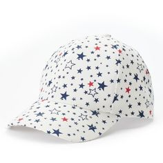 0c442380c9c Women s Stars Baseball Hat ( 14) ❤ liked on Polyvore featuring accessories