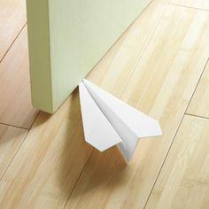 Paper Jet Door Stop