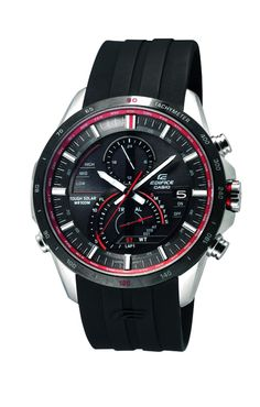 Casio Edifice Tough Solar Herren-Chronograph EQS-A500B-1AVER: Amazon.de: Uhren