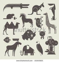 vector animals set by Vector pro, via Shutterstock