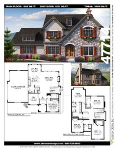 Reliant homes the garrison a plan floor plans homes homes ahmann design plan 47714 inspired by the english tudor home of years gone by malvernweather Image collections