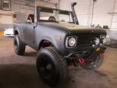 "1969 International Scout 800 4x4. 304 V-8 motor, TF 747 3-speed automatic trans, SOA lift, reverse shackle front and rear, posi front and rear, 37"" tires, no power steering, 4 wheel drum brakes. 4x4 works good..."