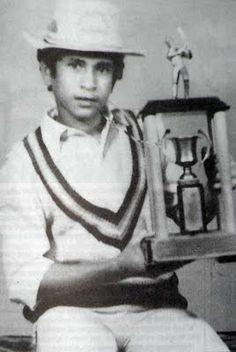 Sachin Tendulkar's Childhood Pic.