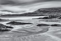 Glassilaun Gloaming - Glassilaun Beach, Connemara, County Galway, Ireland.