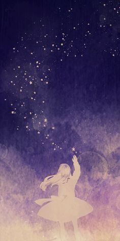 """the sky was made of amethyst and all the stars were just like little fish"