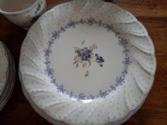 Set of Blue And White Cottage Chic Dinnerware, Blue Peony, by Nikko by…