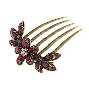 (1 Pc)Ethnic Multicolor Alloy Hair Combs FOR ... – USD $ 4.99