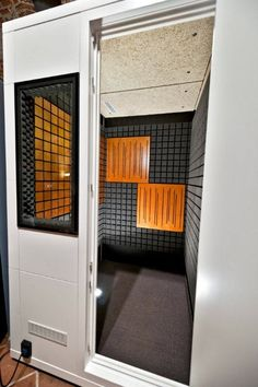 Fantastic Closet Transformed Into Vocal Booth Diy Simple And Quite Cost Largest Home Design Picture Inspirations Pitcheantrous