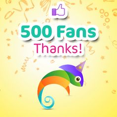 Another web.me celebration. After 1,000 websites time's come for 500 Facebook Fans! Let us thank YOU ALL for your support!