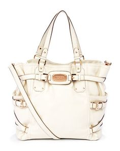 MICHAEL Michael Kors  Exclusive Gansevoort Large Tote. Love all of the details and the Rose golden hardware