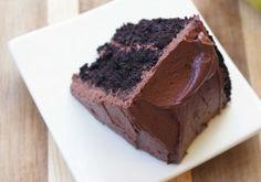 Gluten free chocolate cake recipe made with quinoa