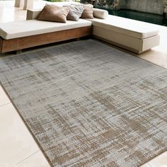 Found it at Wayfair - Coastal Tides Light Brown/Brown Indoor/Outdoor Area Rug