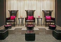 Luxury Spa Pedicure Area | Polished Pedicure Lounge