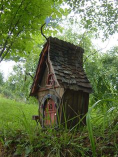 A house for a fairy...or a mouse