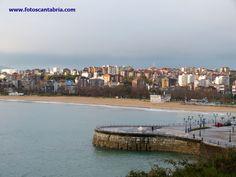 El Sardinero, Santander, Cantabria, España, Spain. Playa