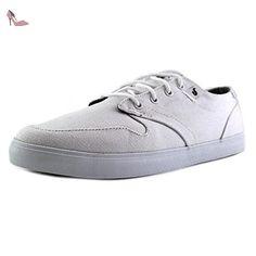 DVS Whitmore Hommes US 10 Blanc Baskets - Chaussures dvs apparel (*Partner-Link)