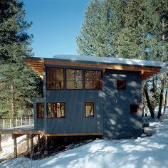 Mazama Cabin - 820 sq. ft. Larger than I need, but great concept.