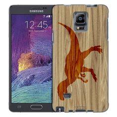 Samsung Galaxy Note 4 Burned Dinosaur Trans Case