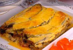 Yunan usulü patlıcan musakka Spanakopita, Quiche, Salsa, Breakfast, Ethnic Recipes, Greece, Food, World Cuisine, Morning Coffee