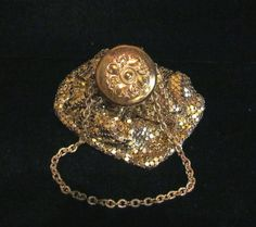 Vintage Purse Gate Top Purse Whiting & Davis by PowerOfOneDesigns, $124.99