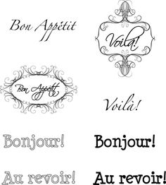 French Printable Sentiments for Card Making and Scrapbooking: French Printable Sentiments for Cards and Scrapbook Pages Printable Scrapbook Paper, Printable Paper, Scrapbook Pages, French Words, French Signs, Card Sayings, Card Sentiments, Scrapbooking, France