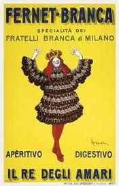 Fernet Branca - Vintage Poster Print On Canvas - Giclee Vintage Italian Posters, Vintage Advertising Posters, Vintage Advertisements, Vintage Ads, Unique Vintage, Poster Vintage, Milan, Arte Online, Art Deco