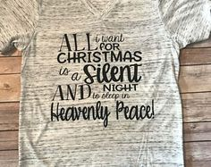 All I want for Christmas Unisex V neck 749bed4aa
