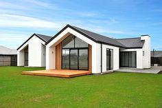 House Cladding, Facade House, Facade Design, Architecture Design, House Design, Self Build Houses, Modern Villa Design, Weekend House, New House Plans