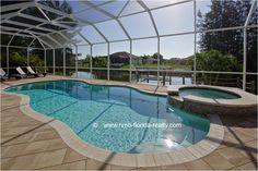 Ferienhäuser Cape Coral, Florida - Villa Coral Dream - pool area