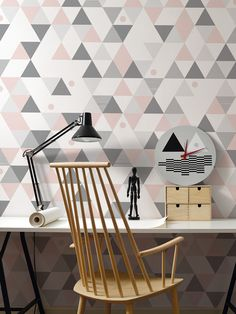 Camp / non-woven wallpaper / lavmi