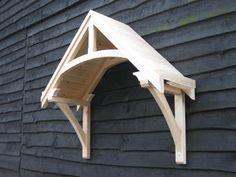 Timber door canopies- traditional cottage canopies - front door canopies
