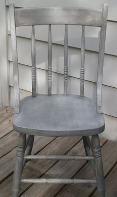 Diy French Gray Faux Finish Technique -  Tutorial
