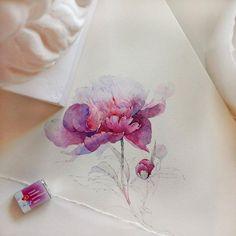 Watercolorist: @kataucha #waterblog #акварель #aquarelle #painting #drawing #art…