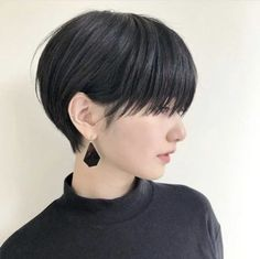 Hair Cuts Styles Pixie For 2019 Asian Short Hair, Girl Short Hair, Haircuts For Long Hair, Short Bob Hairstyles, Shot Hair Styles, Curly Hair Styles, Medium Hair Cuts, Short Hair Cuts, Ulzzang Hair