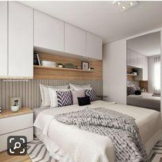 Home Bedroom Wardrobe Ideas For 2019 Small Room Bedroom, Cozy Bedroom, Modern Bedroom, Master Bedroom, Bedroom Decor, Fitted Bedroom Furniture, Fitted Bedrooms, Bedroom Wardrobe, Bed Design