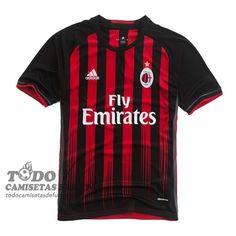 Primera Camiseta Tailandia AC Milan 2017 €20.59