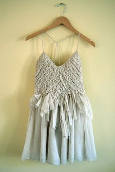 braided dress // size 8 por yuyushiratori en Etsy