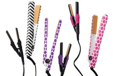 Available in three eye-catching patterns — chevron, purple polka dots, and pink polka dots — this classic tourmaline straightener comes with a mini travel straightener, so you can have sleek and shiny locks wherever you go this holiday season. CHI Air Classic Straightener, $99.99, available in November at Target.