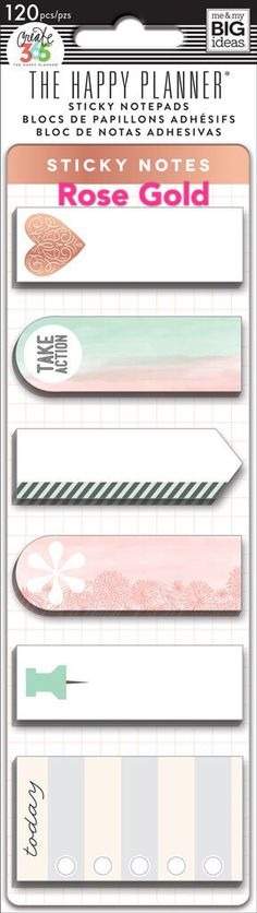 Nieuwe Happy Planner Sticky Notes  Donut Forget / onthouden /