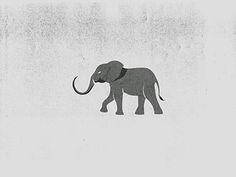 Elephant Mark by Tina Sharma #elephant #logo