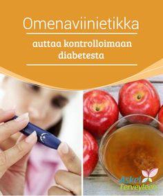 Omenaviinietikka auttaa kontrolloimaan diabetesta   Sen lisäksi että tämä hoito tulisi suorittaa vain lääkärin #valvonnan alla, varmista ettet ylitä päivittäistä 2 #ruokalusikan #omenaviinietikka-annosta.  #Luontaishoidot