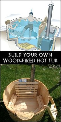 Build your own hot tub - #build #hot #Tub
