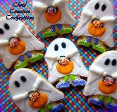 Trick or Treat Halloween Cookies
