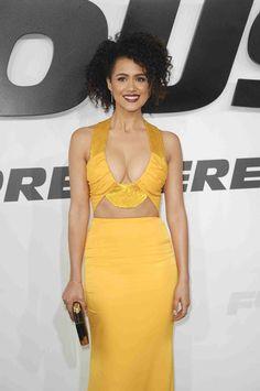 Black Celebrities, Hollywood Celebrities, Beautiful Celebrities, Beautiful Actresses, Celebs, Nathalie Emmanuel, Female Actresses, Woman Crush, Beautiful Black Women