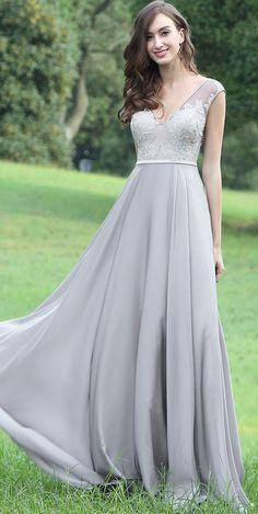 eDressit Latest Grey Sexy Lace Evening Dress