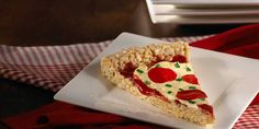 """Mama mía! Your kids can decorate each slice with their favorite """"toppings"""" for a cute and crispy pizza pie."""