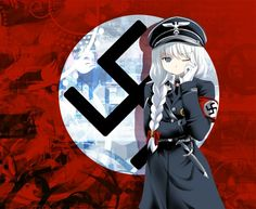 In 1920, a red flag with a while circle and black swastika became the official emblem of the Nazi Party. Description from fareastfling.me. I searched for this on bing.com/images