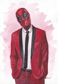 #Deadpool #Fan #Art. (Deadpool) By: Dymnh. (THE * 5 * STÅR * ÅWARD * OF: * AW YEAH, IT'S MAJOR ÅWESOMENESS!!!™) [THANK U 4 PINNING!!!<·><]<©>