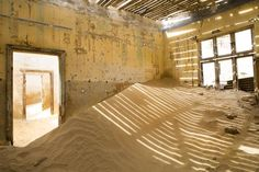 The Desert Inside Kolmanskop, Namibia by SeeOneSoul Photography National Geographic Photos, Your Shot, Ghost Towns, Amazing Photography, Deserts, Shots, Travel, Sun, Live